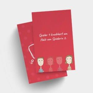 Erotisches Sexspiel – Vorlage LOVE Aktionskarten, Swinger MFMF