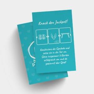 Erotisches Sexspiel – OMG Aktionskarten, Slot Machine für Swinger