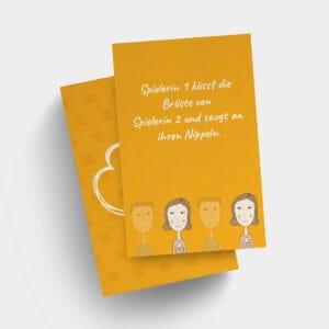 Bi Spielkarten für die Frauen, passend zum Swinger Sexspiel Abenteuer
